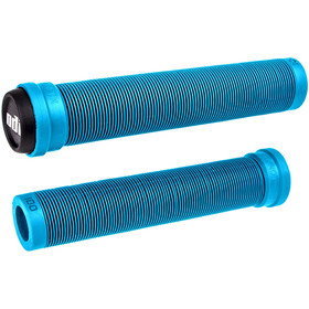 ODI Longneck SLX Flangeless BMX Grips, light blue